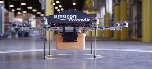 Amazon have plans to test drone delivery in the UK.